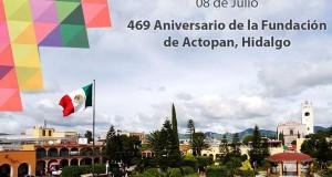 469 Aniversario de la fundación de Actopan