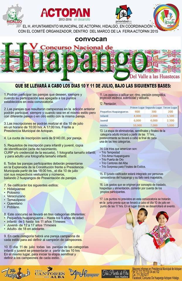 Huapango, 11 y 12 de Julio del 2015