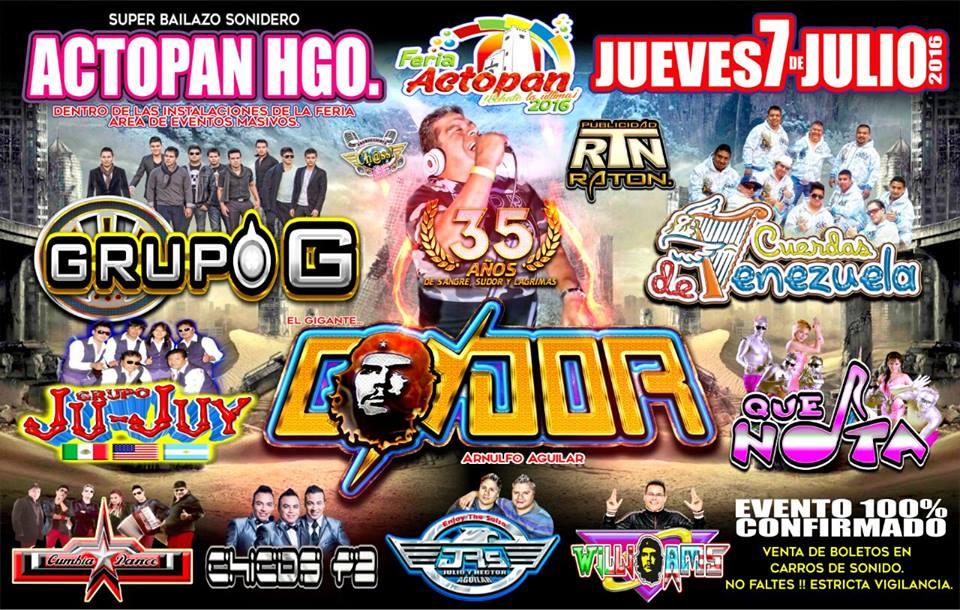Feria Actopan Hidalgo 2016