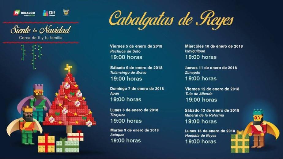 Cabalgata de Reyes Actopan Hidalgo 2018