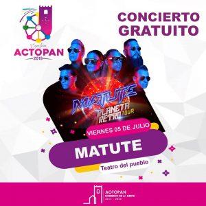 Feria Actopan 2019: Matute