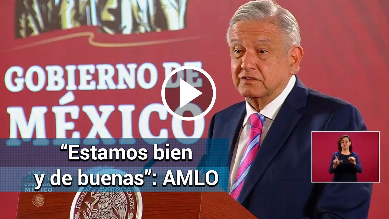 AMLO, primer informe de gobierno
